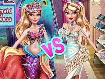 Ellie mermaid vs princess