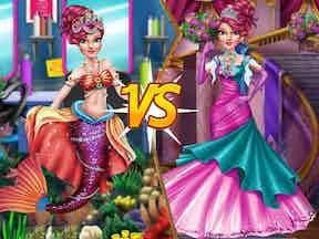Mermaid vs princess 1