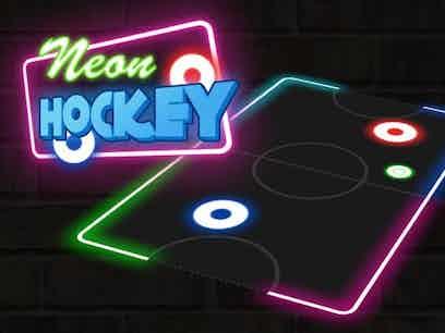 Neon hockey 1