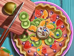 Play Vincy Cooking Rainbow Birthday Cake Online Free At