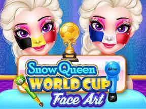 Soccer worldcup 2018 face art